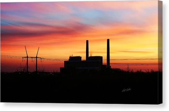 A Gentleman Sunrise Canvas Print