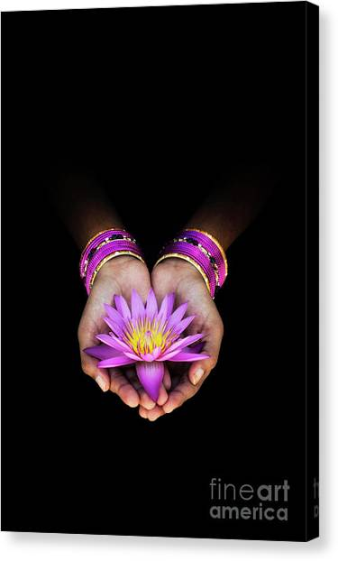 Indians Canvas Print - A Gift by Tim Gainey