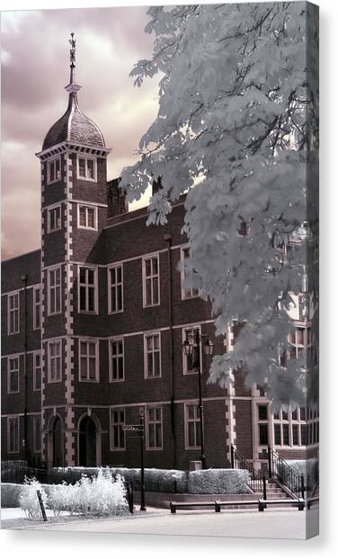 A Glimpse Of Charlton House, London Canvas Print