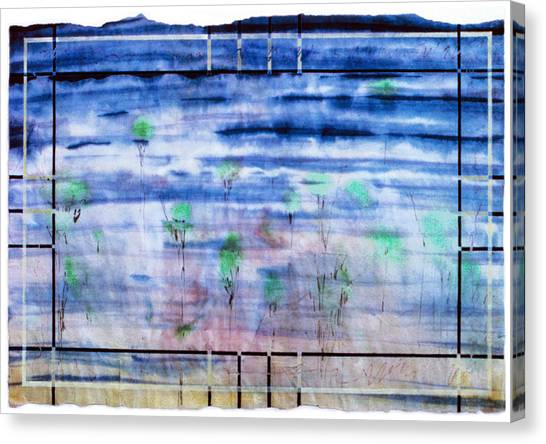 A Glimpse Canvas Print by Tom Hefko