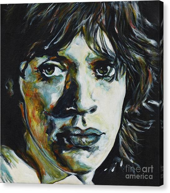 Almost Hear Your Sigh. Mick Jagger Canvas Print