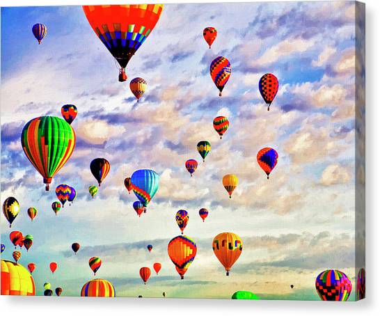 A Great Day To Fly Canvas Print