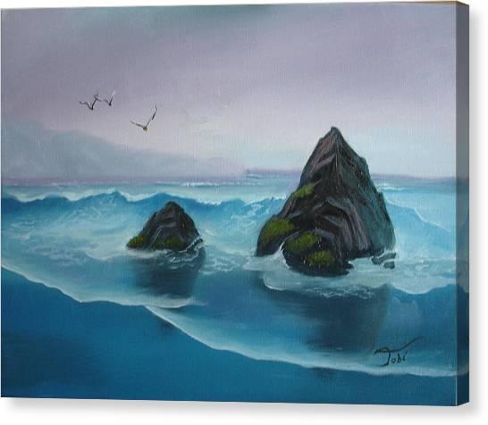 A Grey Day Canvas Print by Tobi Czumak