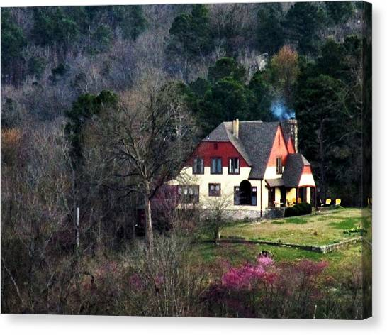 A Home In The Country Canvas Print