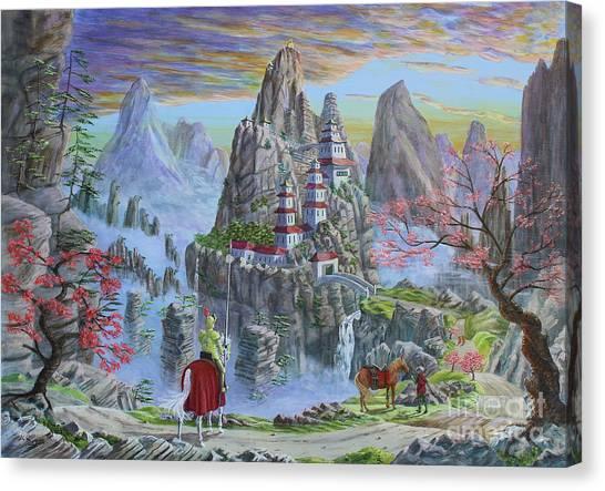 A Journey's End Canvas Print