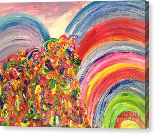 A Joyful Noise Canvas Print
