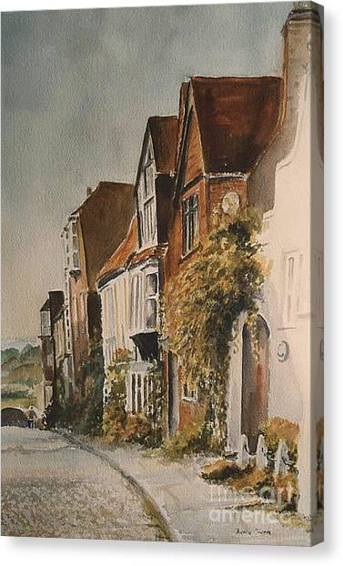 A Lane In Rye Canvas Print