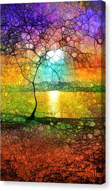 A Light Like Love Canvas Print