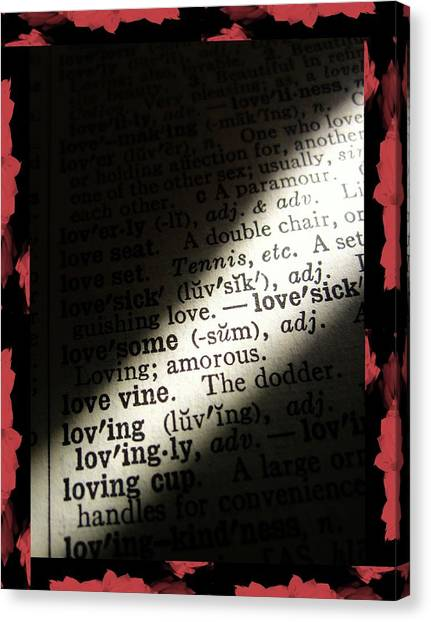A Light On Love Canvas Print