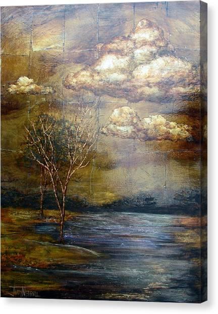 A Light Sheen Canvas Print by Judy Merrell