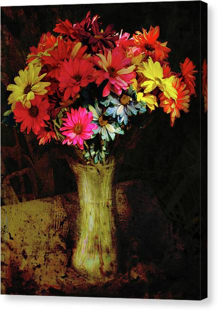 A Light Shines Into The Darkness Of My Soul 2 Canvas Print
