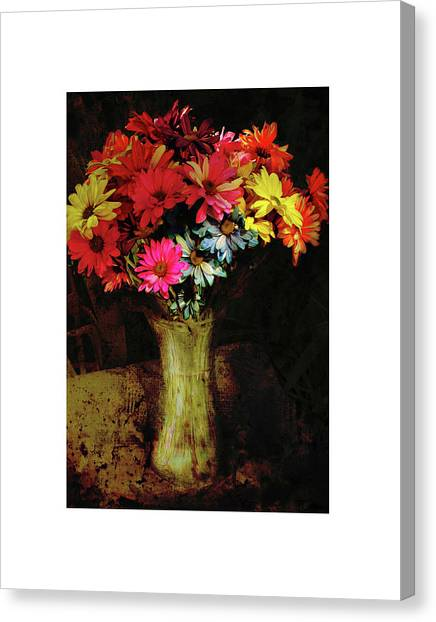 A Light Shines Into The Darkness Of My Soul Canvas Print