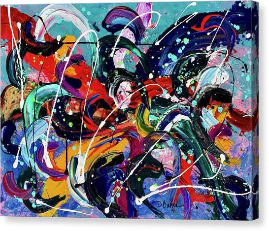 Canvas Print - A Little Big by Dolores Baker