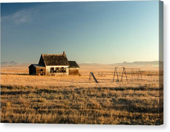 Mountain West Canvas Print - A Long, Long Time Ago by Todd Klassy