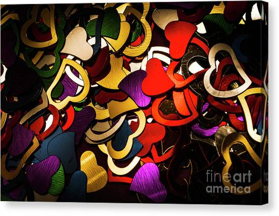 Party Canvas Print - A Love Contrast by Jorgo Photography - Wall Art Gallery