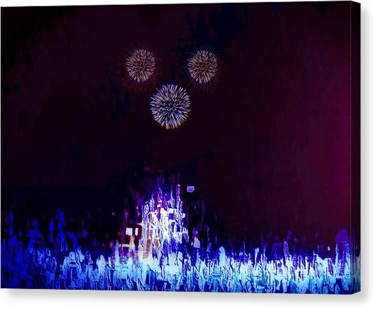 A Magical Night Canvas Print