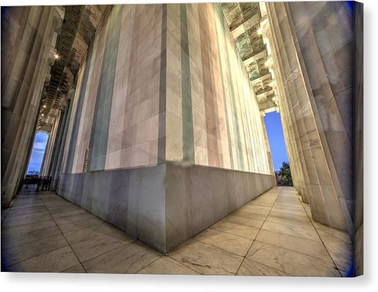 A Matter Of Perspective Canvas Print by John King