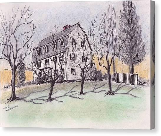 A Middleton Ma Gambrel Canvas Print