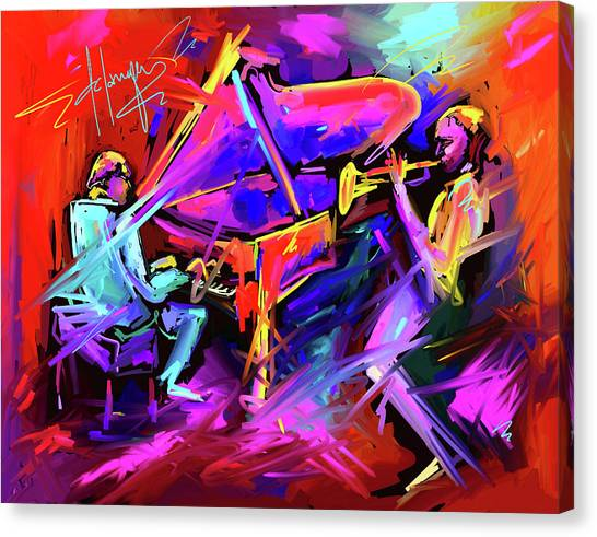 A Million Colors On You Mind Canvas Print