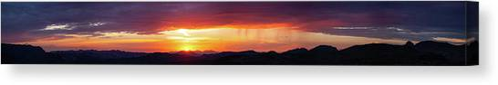 Canvas Print featuring the photograph  A Moment In Time by Rick Furmanek