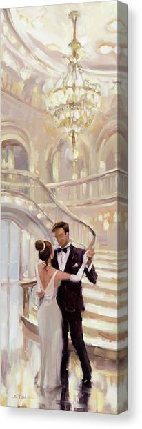 Couple Canvas Print - A Moment In Time by Steve Henderson