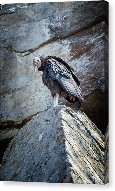 Undertaker Canvas Print - A Moment Of Silence by Bill Wakeley