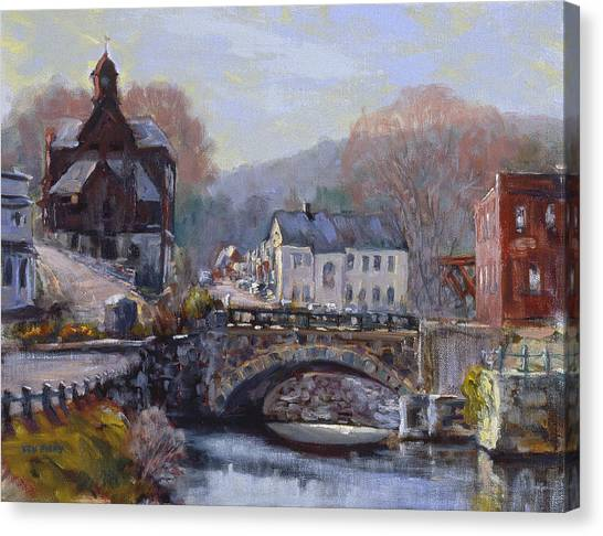 A Morning In Wilton Canvas Print