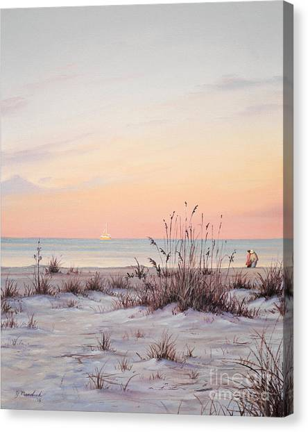 A Morning Stroll Canvas Print
