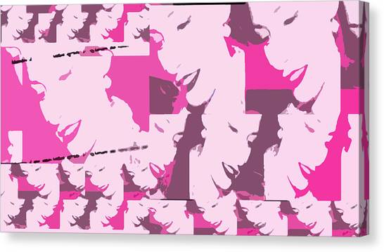 A Multitude  Canvas Print