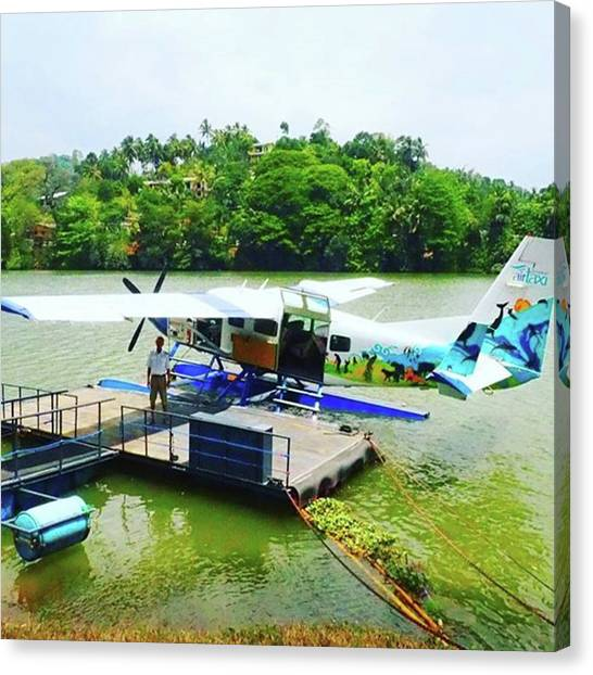 Seaplanes Canvas Print - A #mustdo In #srilanka #flight From by Patrick Gianni