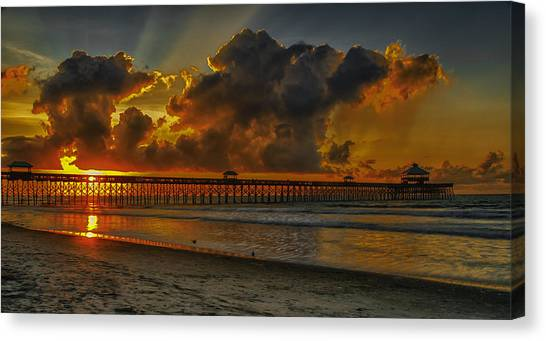 A New Day Dawns Canvas Print