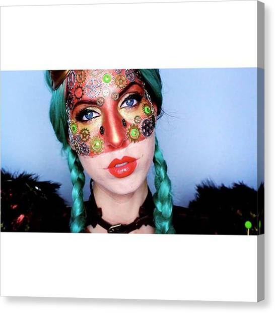 Steampunk Canvas Print - A New Video Went Up On by Susann Grassow