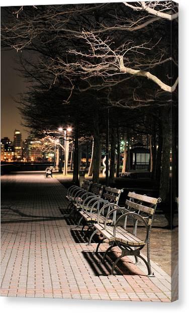 A Night In Hoboken Canvas Print