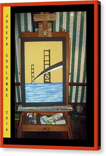 A Nor Cal Bridge 2016 Canvas Print