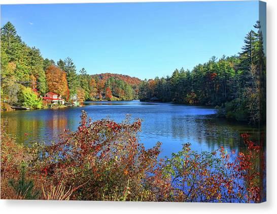 A North Carolina Autumn Canvas Print