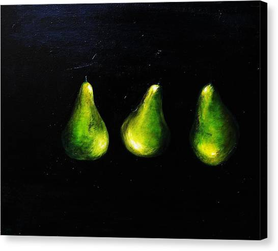 A Pair And A Half Canvas Print by Steffen  Anderson