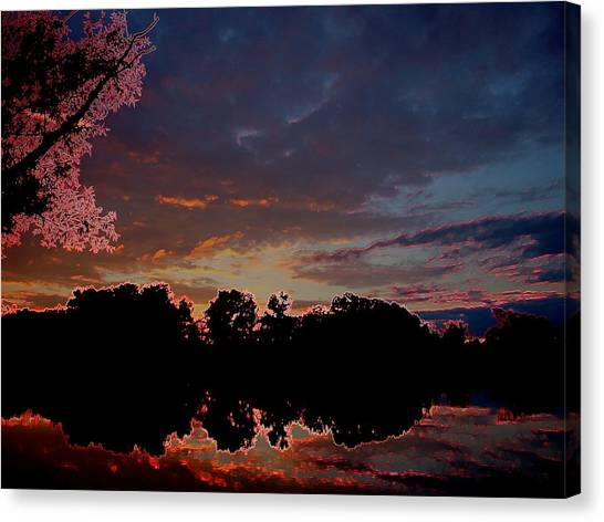 A Passing Memory Canvas Print