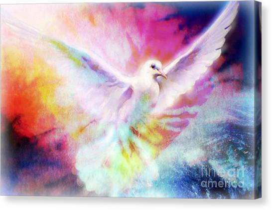 A Peace Dove Canvas Print