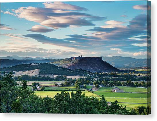A Peaceful Land Canvas Print