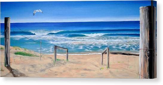 A Perfect Day Canvas Print by Tania Kay