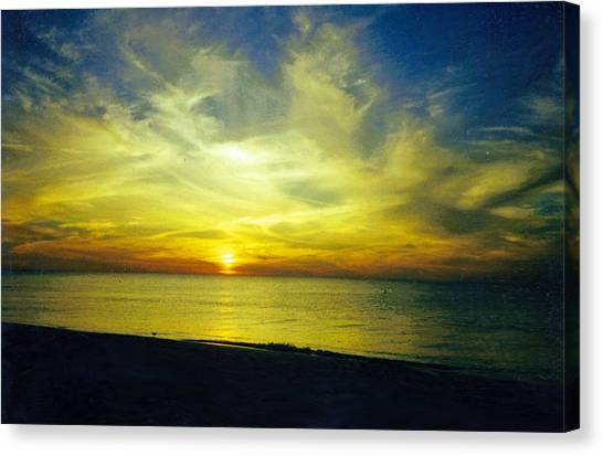 A Perfect Night Canvas Print by Jean Haynes