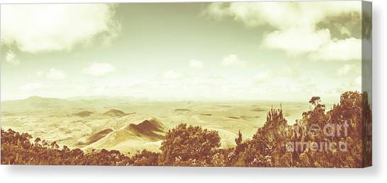 Mountain Scene Canvas Print - A Piece Of Tasmania by Jorgo Photography - Wall Art Gallery