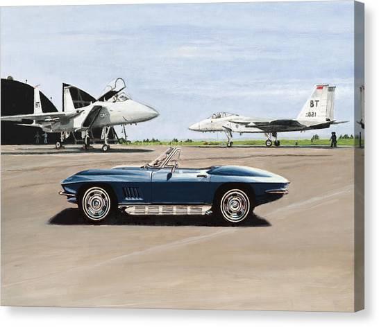 A Pilots Dream Canvas Print by Richard Herron
