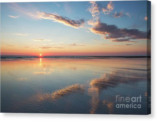 Northumberland Canvas Print - A Place Of Reflection by Tim Gainey