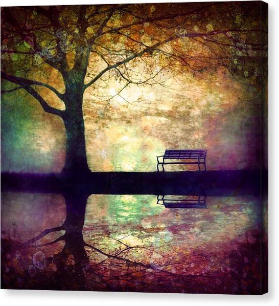 A Place To Rest In The Dark Canvas Print