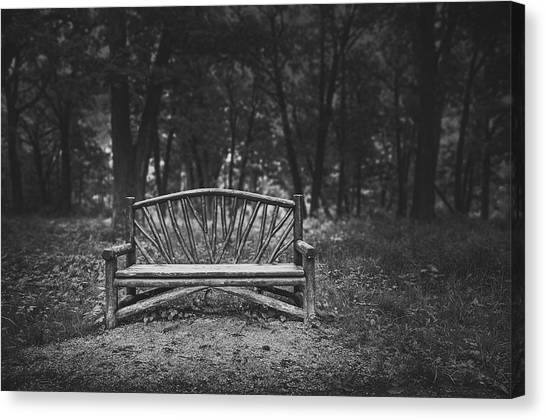 Chairs Canvas Print - A Place To Sit 6 by Scott Norris