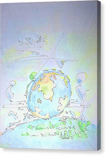 Canvas Print - A Planet Remembered by Dave Martsolf
