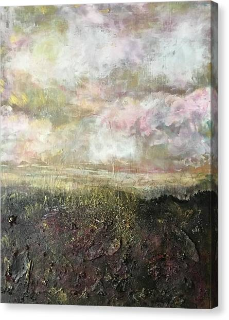 Moorland Canvas Print - A Prefect Day In The Peaks by Dawn Wakefield