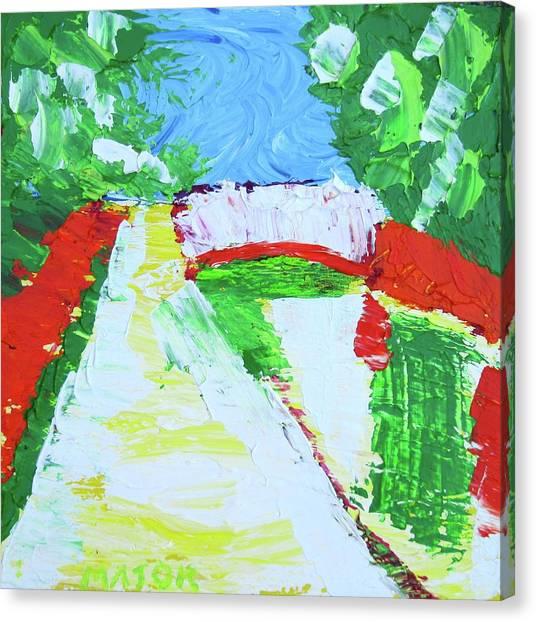 A Putah Creek Bridge Canvas Print