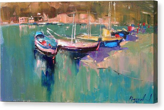 A Quiet Cove Canvas Print